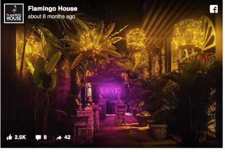 Flamingo House - Love Bar