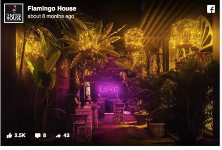 Flamingo House - Love Bar