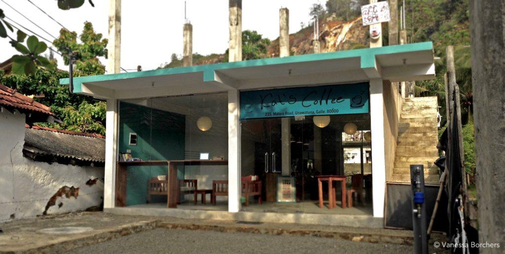 Kat's Coffee - Bester Kuchen in Unawatuna
