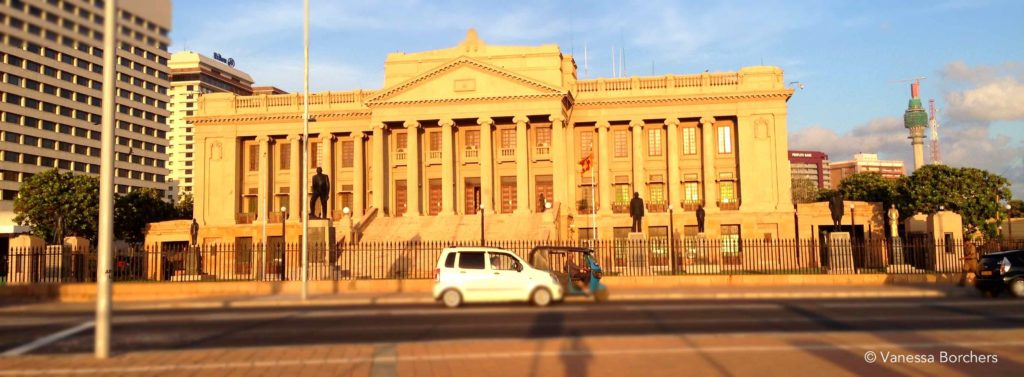 Old Parliament Building Colombo